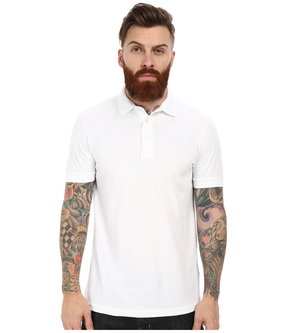 French Connection - Basic Sneezy (White) Men's Clothing