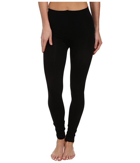 Wolford - Velvet Sensation Leggings (Black) Women's Casual Pants