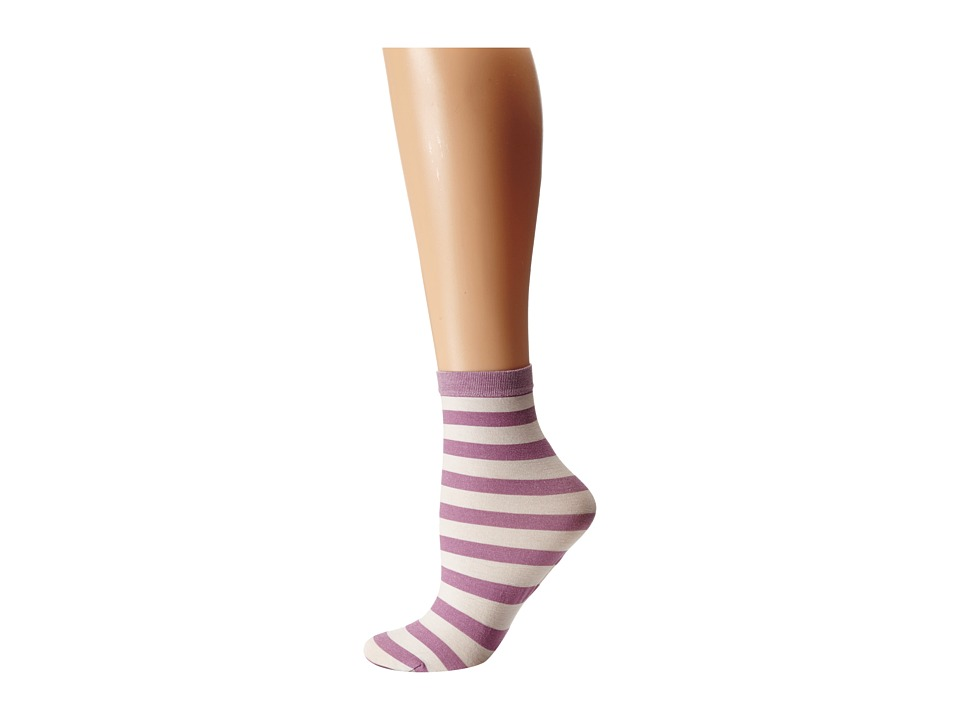 Wolford - Amelie Socks (Wildrose/White) Women