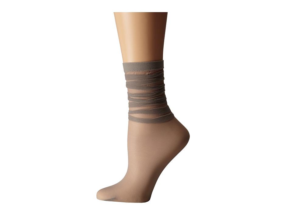 Wolford - Tessa Socks (Coyote) Women's Crew Cut Socks Shoes