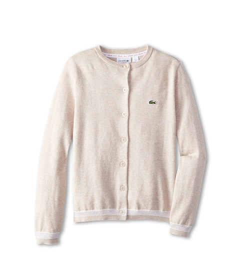 Lacoste Kids - Cardigan Sweater (Little Kids/Big Kids) (Agathe Chine) Girl's Sweater