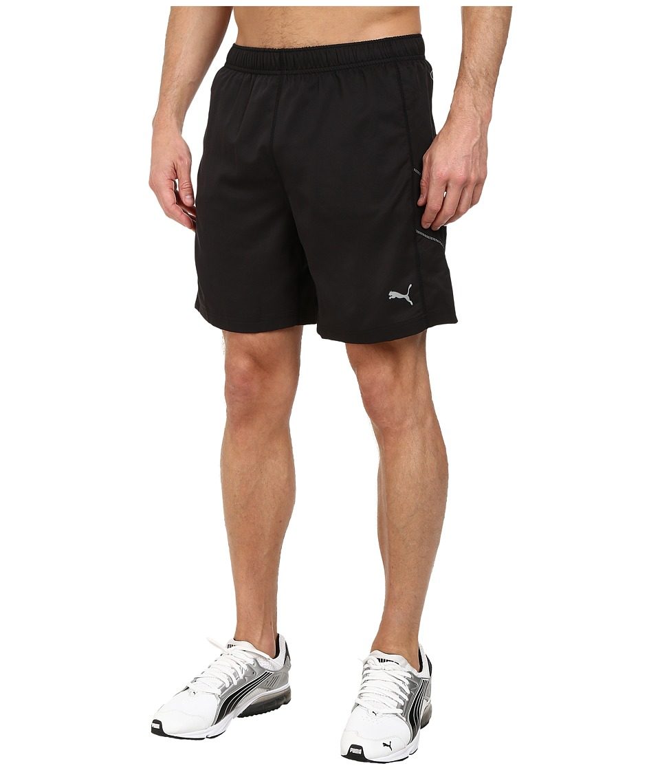 PUMA - PE Running 7 Shorts (Black/Black) Men's Shorts