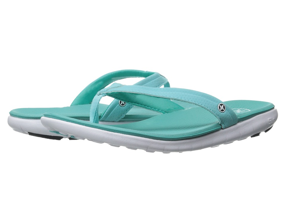 Hurley - Phantom Free Sandal (Light Aqua) Women's Sandals