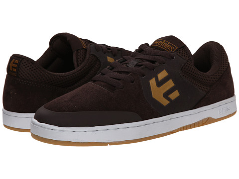 etnies - Marana (Dark Brown) Men's Skate Shoes