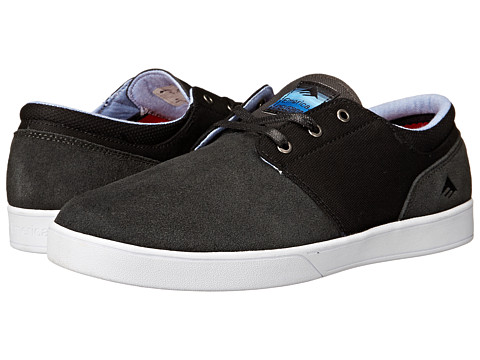 Emerica - The Figueroa (Dark Grey/Black/White) Men's Skate Shoes