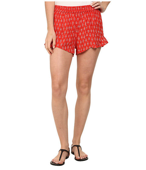 Billabong - Island Escape Shorts (Bikini Red) Women's Shorts
