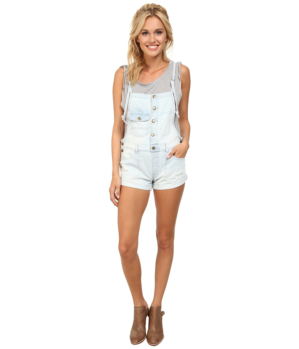 Billabong - Not Really Over It Shorts (Chambray 2) Women's Overalls One Piece