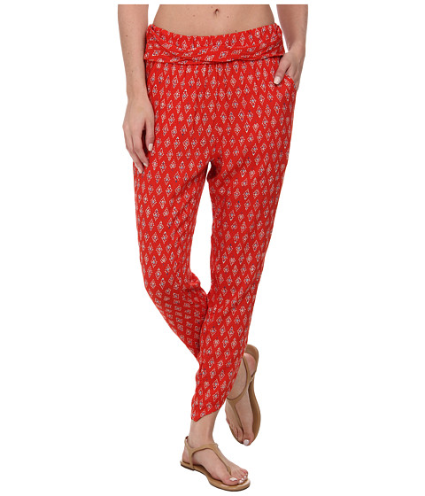 Billabong - Turn Away Beach Pant (Bikini Red) Women's Casual Pants