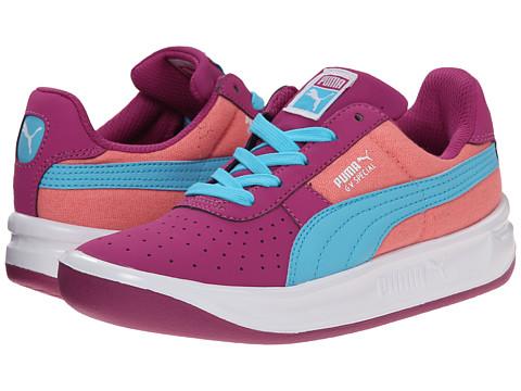 Puma Kids - GV Special CVS Jr (Little Kid/Big Kid) (Vivid Viola/Salmon Rose/Blue Atoll) Girls Shoes