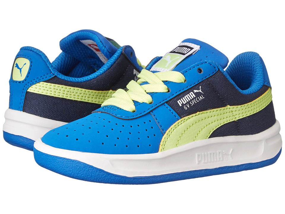 Puma Kids - GV Special CVS (Toddler/Little Kid) (Strong Blue/Peacoat/Sharp Green) Boys Shoes