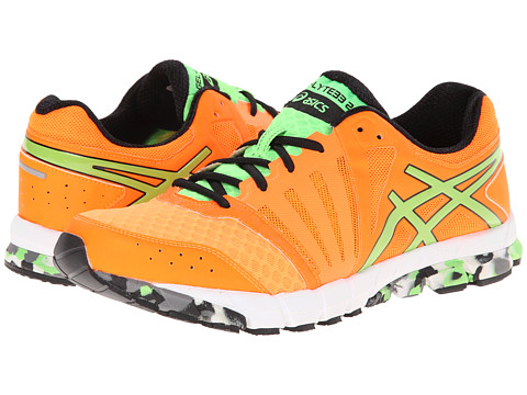 ASICS - GEL-Lyte33 2 (Flash Orange/Apple/Black) Men