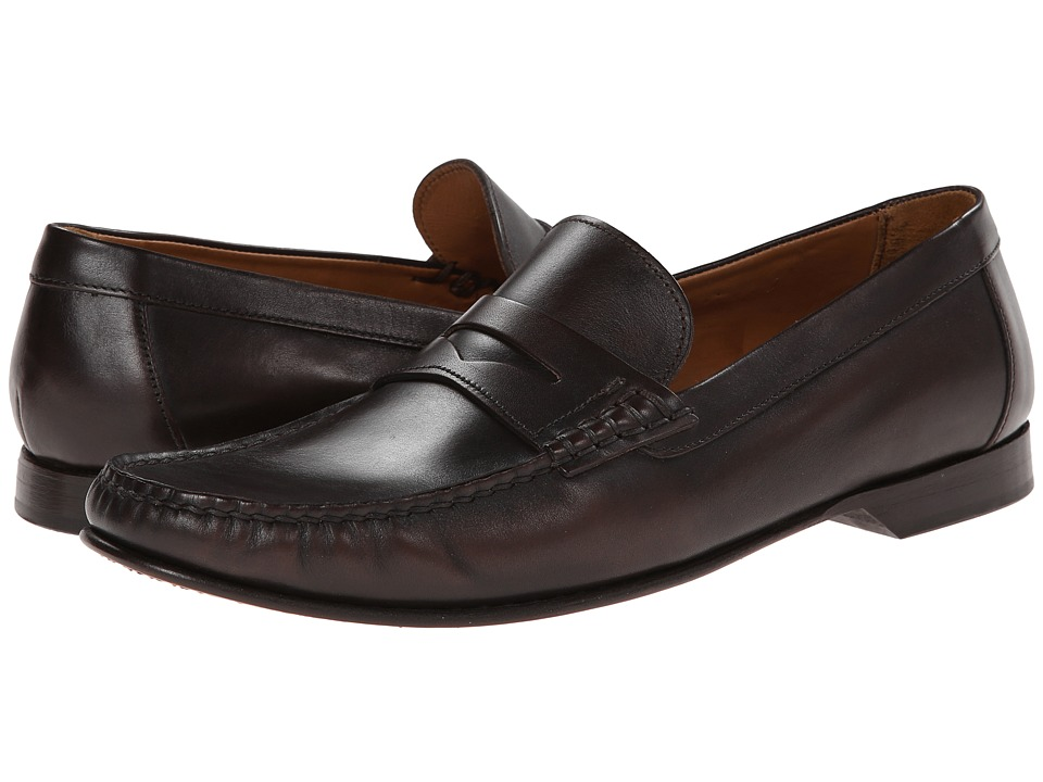 Testoni BASIC - D60362 (Moro Peru Calf) Men's Slip-on Dress Shoes