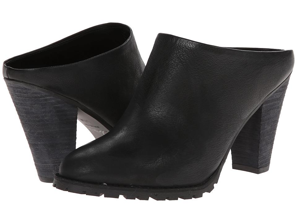Delman - Exude (Black Washed Vachetta) Women's Clog Shoes