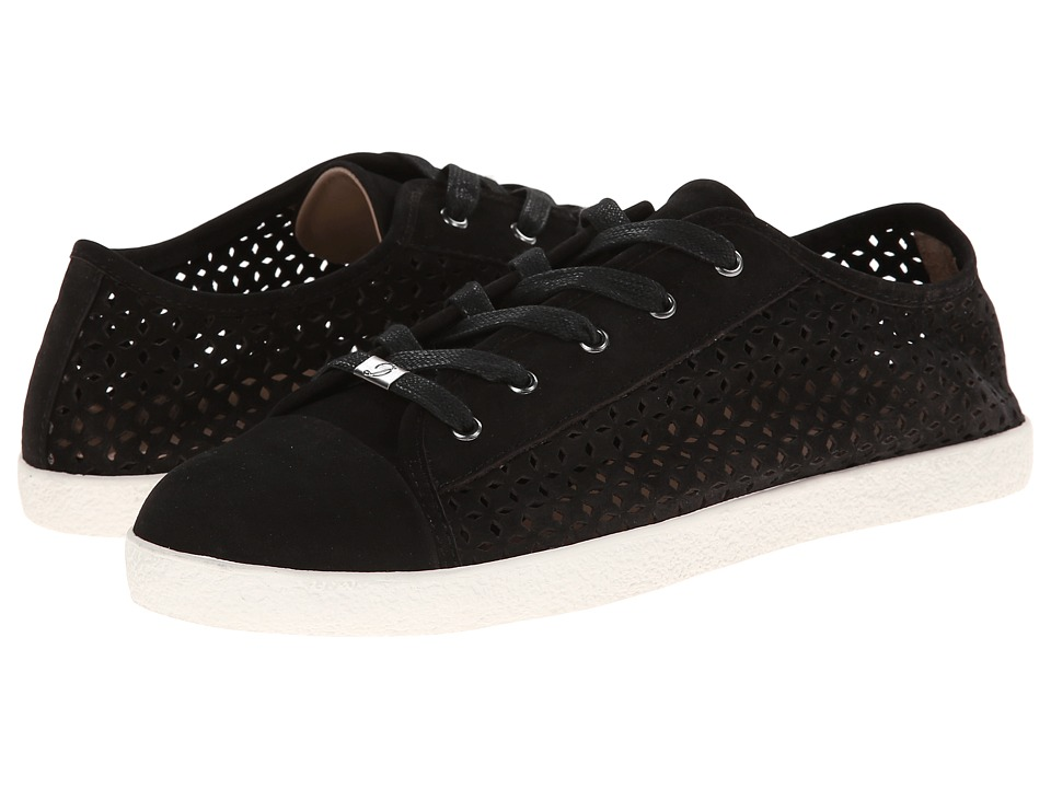 Delman - Magie (Black Perf Nubuck) Women's Lace up casual Shoes