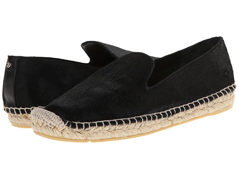 Delman - Percy (Black Haircalf) Women's Slip on Shoes