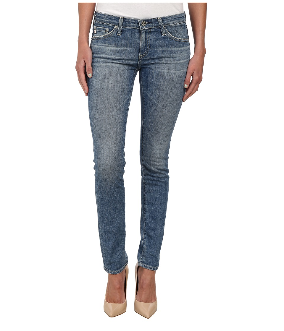 AG Adriano Goldschmied - The Stilt Cigarette in 14 Years Sand (14 Years Sand) Women's Jeans