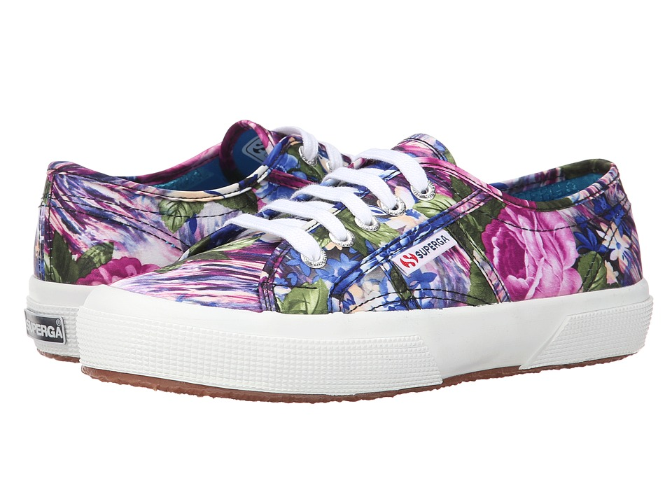 Superga - 2750 COTW Fabric 28 (Violet Fabric) Women