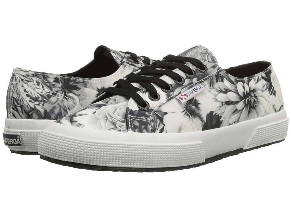 Superga - 2750 Fabric Annabella (Black/White) Women
