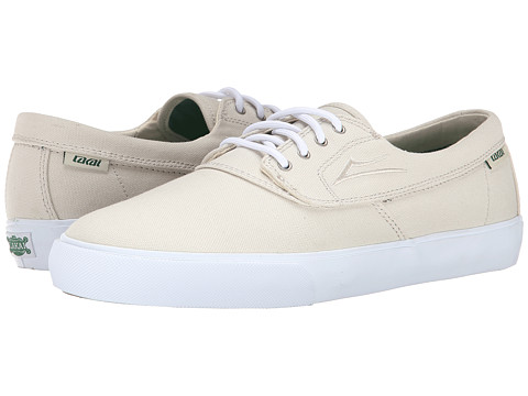 Lakai - Camby (Cream Canvas) Men's Skate Shoes