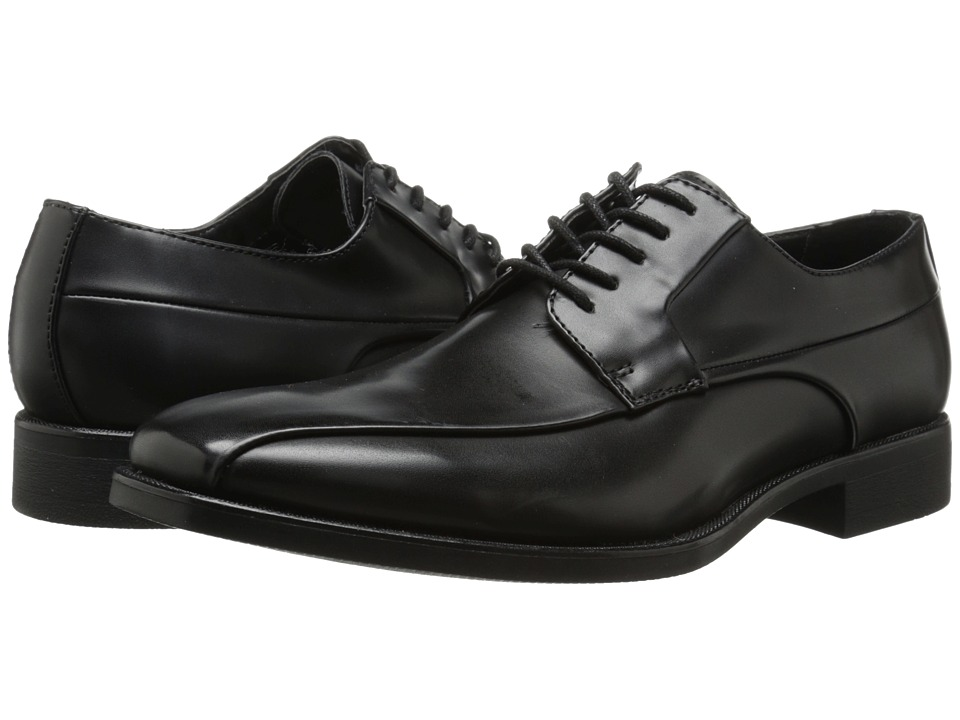 Calvin Klein - Earl (Black Smooth) Men's Shoes