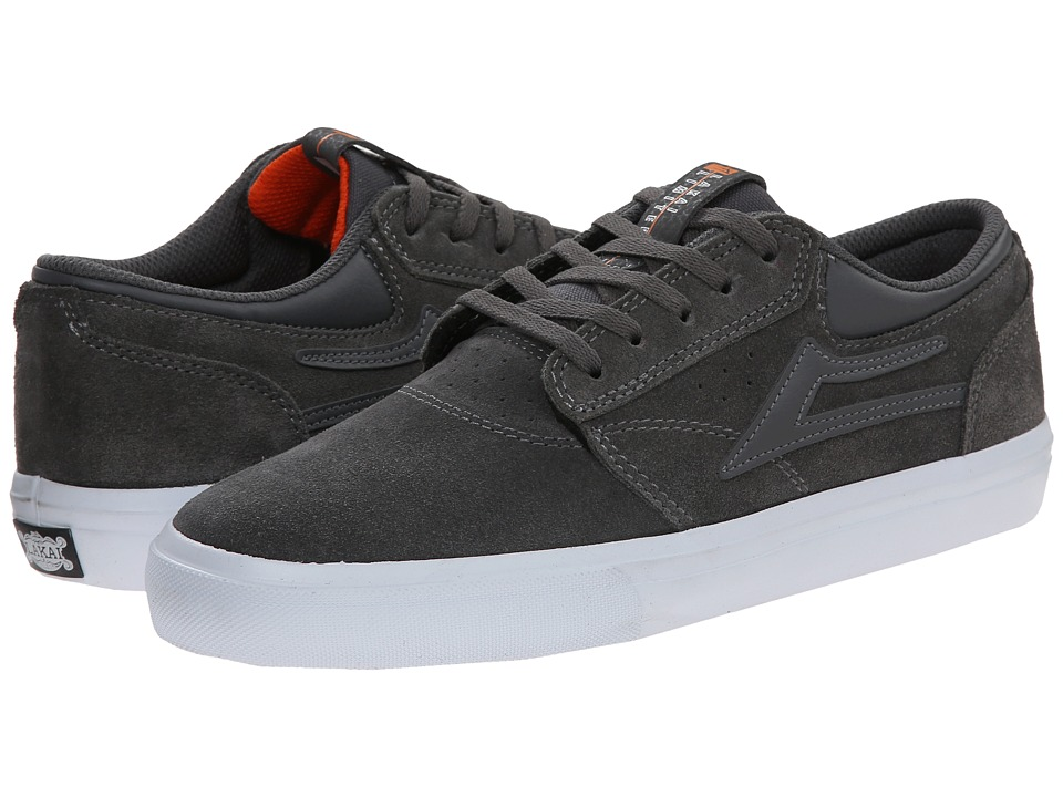 Lakai - Griffin (Gargoyle Suede) Men's Skate Shoes