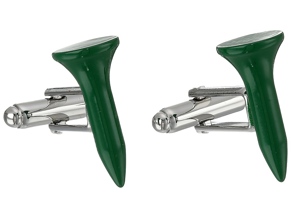 Cufflinks Inc. - Golf Tee Cufflinks (Green) Cuff Links
