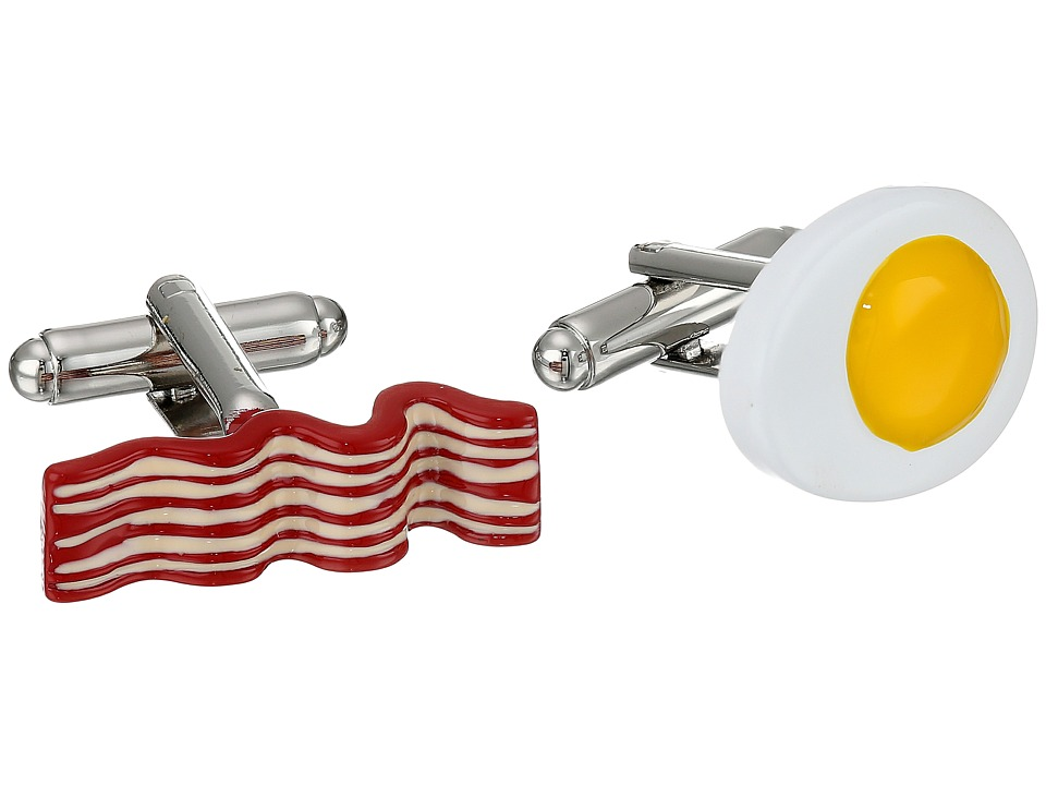 Cufflinks Inc. - Bacon and Eggs Breakfast Cufflinks (Multi) Cuff Links