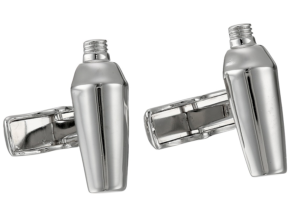 Cufflinks Inc. - Sterling Silver Martini Cufflinks (Silver) Cuff Links