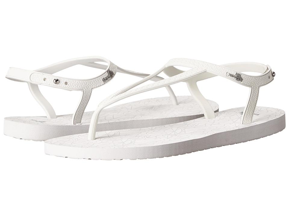 Sanuk - Mila (White) Women's Sandals