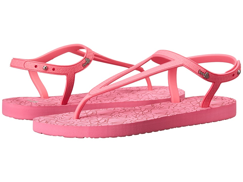 Sanuk - Mila (Hot Pink) Women's Sandals