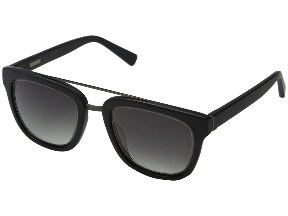 Derek Lam - Prince (Matte Black) Fashion Sunglasses