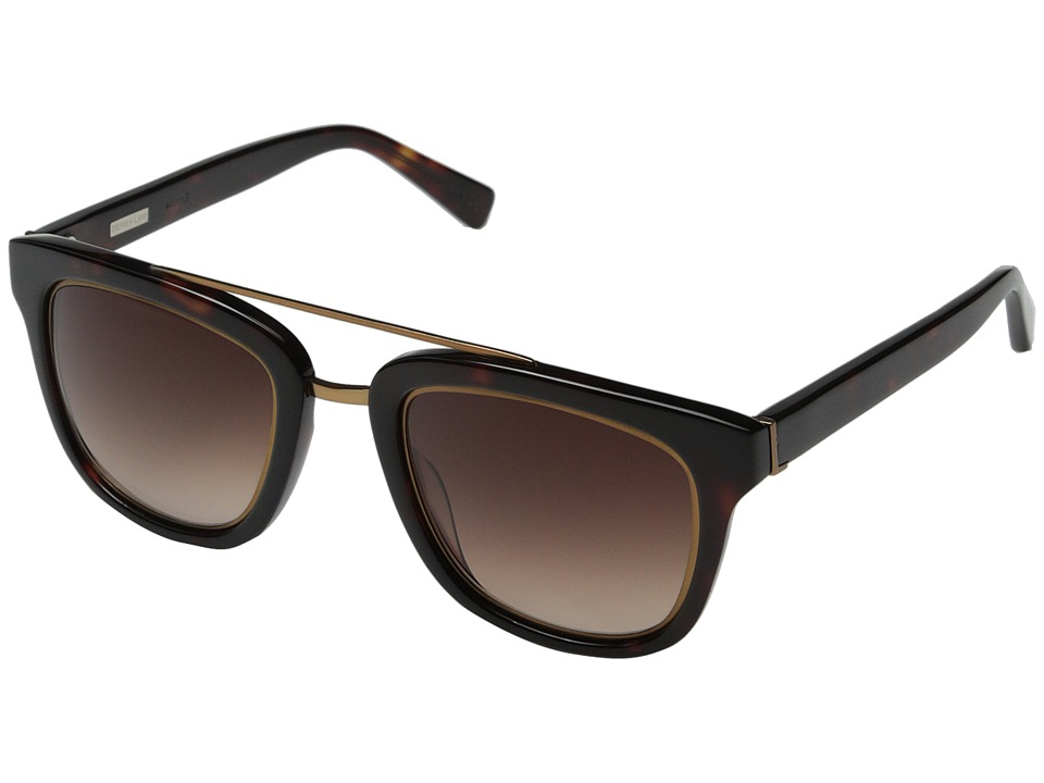 Derek Lam - Prince (Dark Tortoise) Fashion Sunglasses