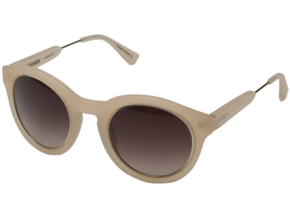 Derek Lam - Lafayette (Matte Peach) Fashion Sunglasses