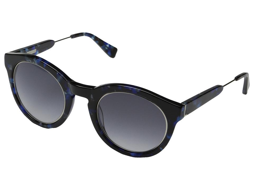 Derek Lam - Lafayette (Blue Marble) Fashion Sunglasses