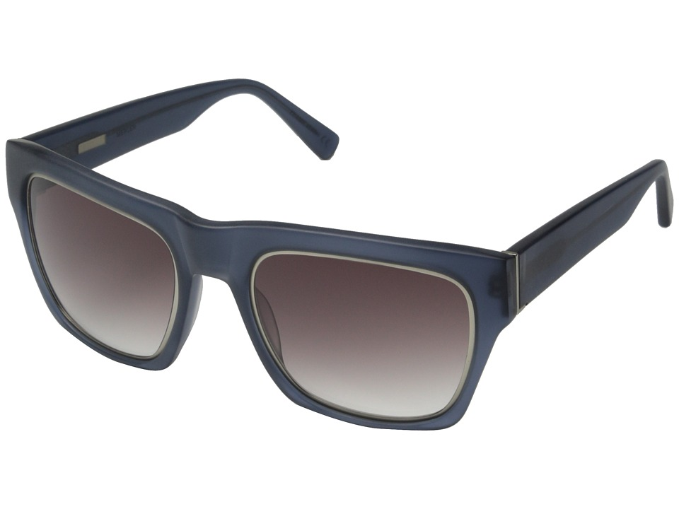 Derek Lam - Mercer (Matte Dark Grey) Fashion Sunglasses