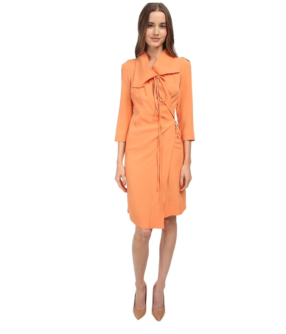 Vivienne Westwood Red Label - Wrap Dress (Apricot) Women's Dress