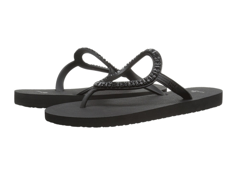 Sanuk - Ibiza Monaco (Blackout) Women's Sandals