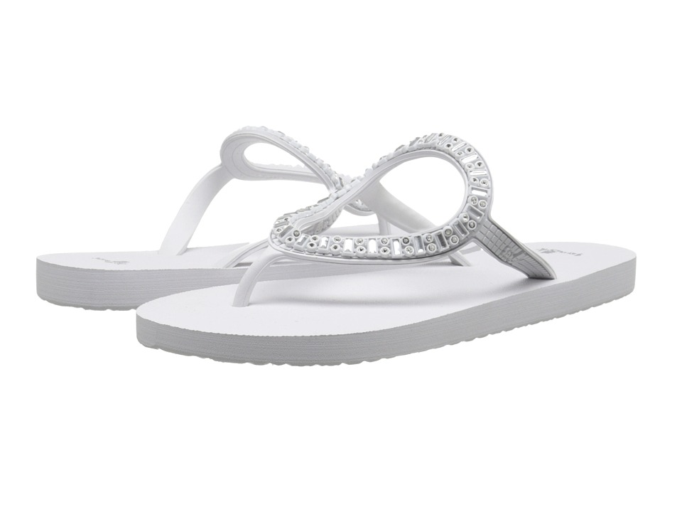 Sanuk - Ibiza Monaco (White/Silver) Women's Sandals