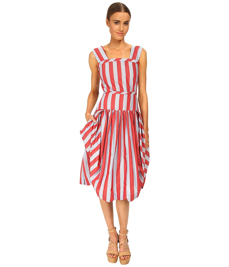 Vivienne Westwood Red Label - Alien Dress (Red Stripe) Women