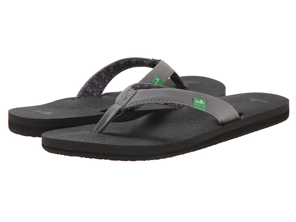 Sanuk - Yoga Zen (Charcoal) Women's Sandals