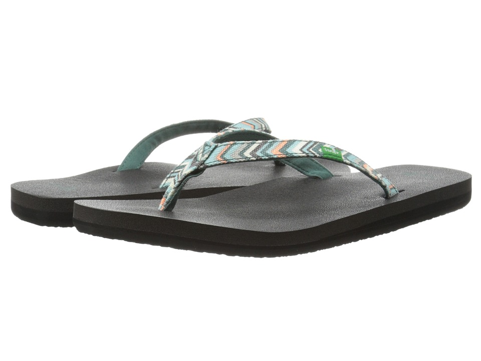 Sanuk Yoga Joy Funk (Mallard Chevron) Women
