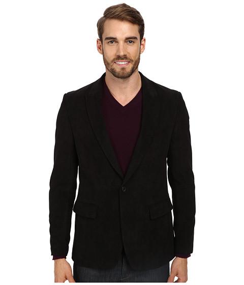 Perry Ellis - Slim Texture Sport Jacket (Black) Men