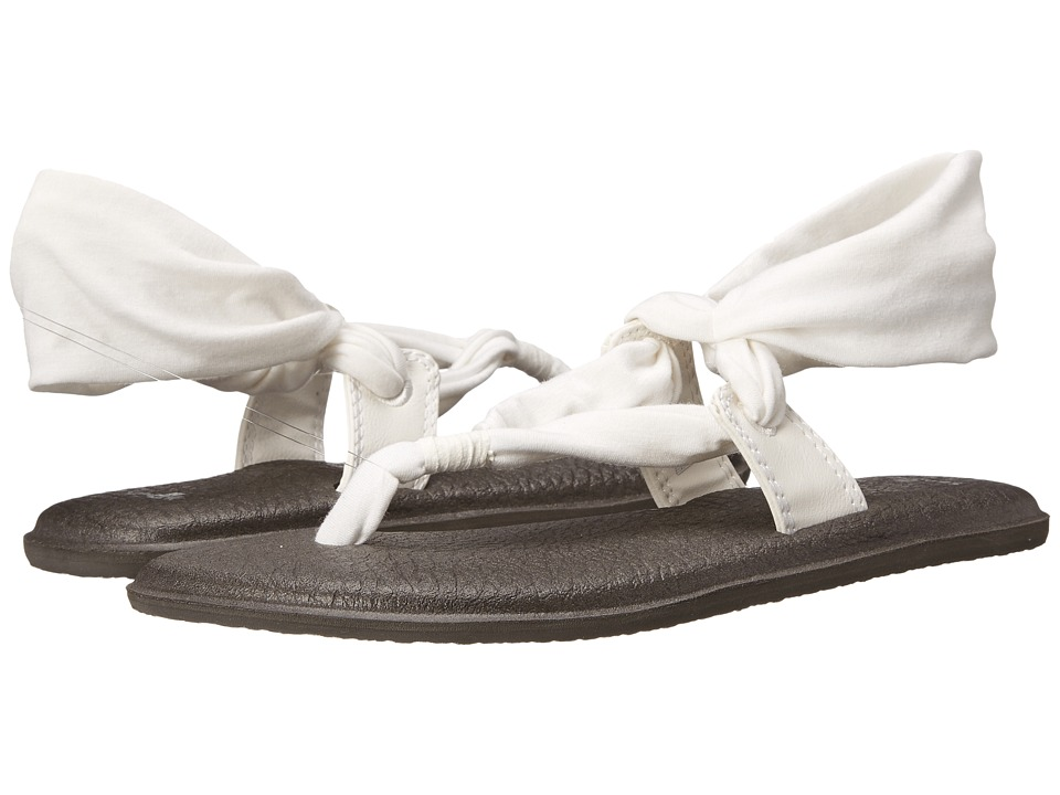 Sanuk - Yoga Slinglet (White) Women's Sandals