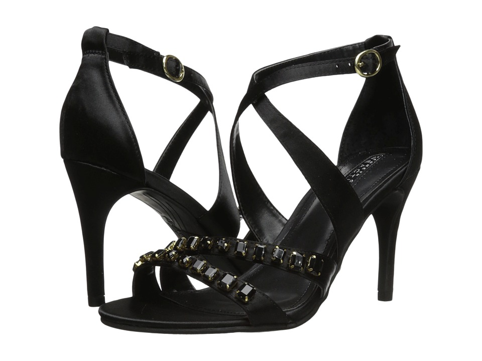 Kenneth Cole Reaction Pin Party (Black) High Heels