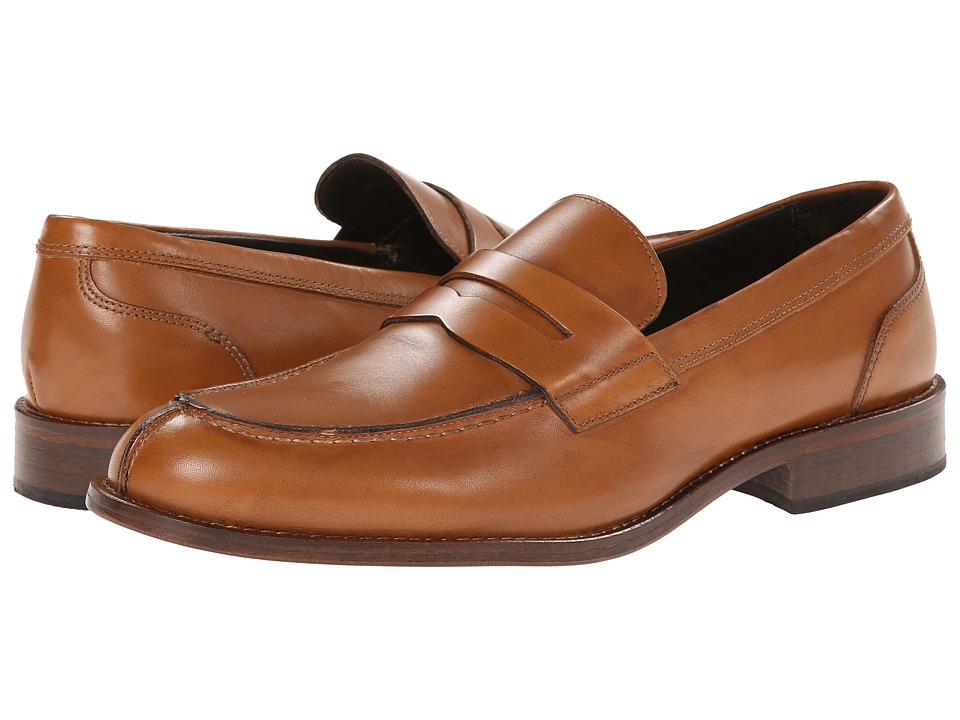 Testoni BASIC - D45672WLM (Cuoio Peru Calf) Men's Slip-on Dress Shoes