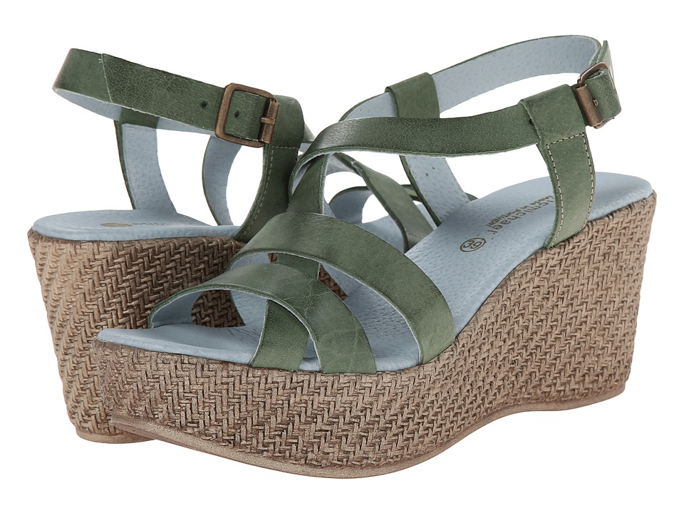 Eric Michael - Anna (Green) Women's Shoes