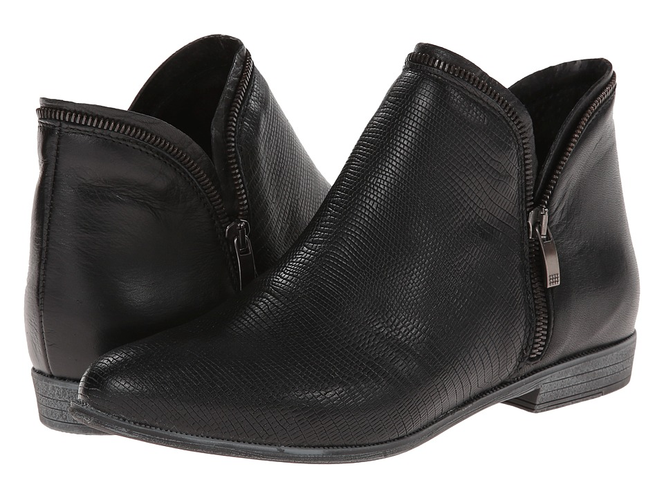 Eric Michael - Ireland (Black) Women's Zip Boots
