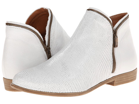 Eric Michael - Ireland (White) Women's Zip Boots