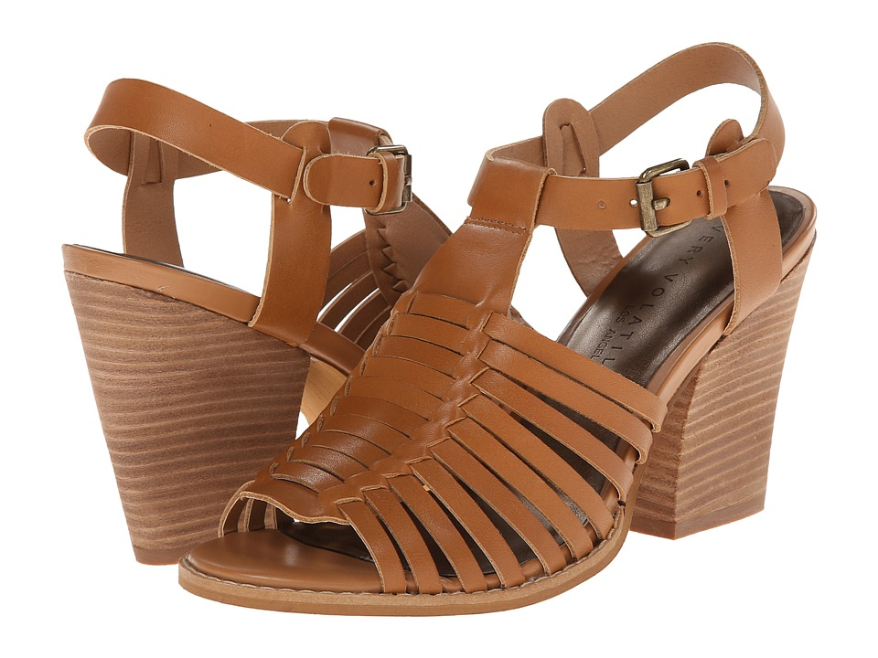 VOLATILE - Route (Tan) Women's Wedge Shoes