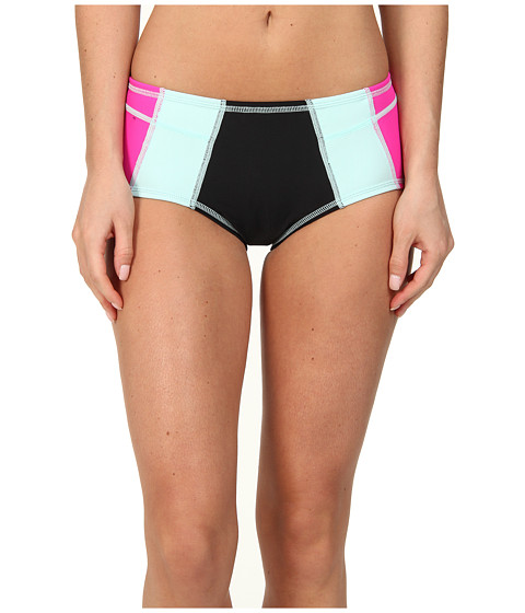 TYR - Seaside Jada Bottom (Black/Mint/Pink) Women's Swimwear